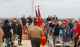 Photo for the Veterans Memorial Service at Miramar Nation...