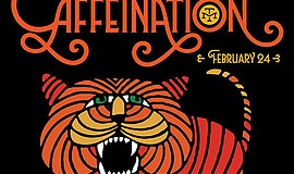 Promotional graphic for the Modern Times Carnival Of Caff...