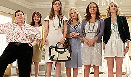 """Film still from """"Bridesmaids."""" Courtesy of Suzanne Hanover."""