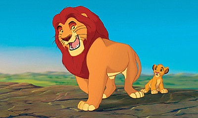 "Film still from ""The Lion King."" Courtesy of Disney Enter..."