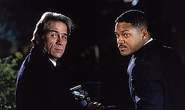 """Film still from """"Men In Black."""" Courtesy of Columbia Pict..."""