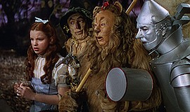 "Film still from ""The Wizard of Oz."" Courtesy of Warner Ho..."