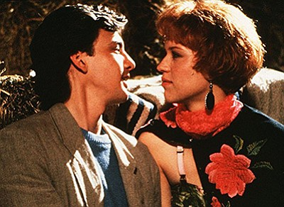 """Film still from """"Pretty in Pink."""" Courtesy of The Kobal C..."""