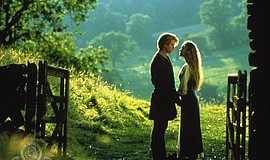 Cary Elwes and Robin Wright in The Princess Bride (1987).