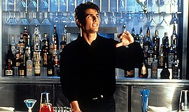 """Film still from """"Cocktail."""" Courtesy of Archive Photos."""