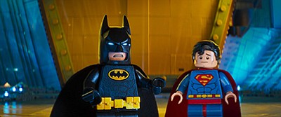 "Film still from ""The Lego Batman Movie."" Courtesy of Warn..."