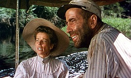 Humphrey Bogart and Katharine Hepburn in The African Quee...