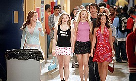 Promo graphic for Rooftop Cinema Club: 'Mean Girls'