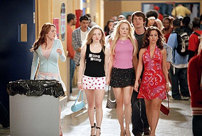 "Film still from ""Mean Girls."" Courtesy of Paramount Pictu..."