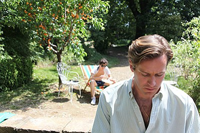 "Film still from ""Call Me By Your Name."" Courtesy of Sony ..."