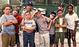 Promo graphic for Summer Movies In The Park: 'The Sandlot'
