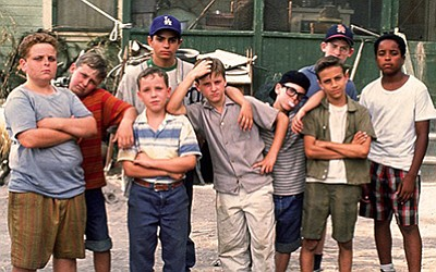 "Photo of the cast of ""The Sandlot."" Courtesy of 20th Cent..."