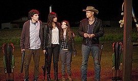 "Film still from ""Zombieland."" Courtesy of Columbia/TriStar."