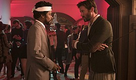 """Armie Hammer and Lakeith Stanfield in """"Sorry to Bother Yo..."""
