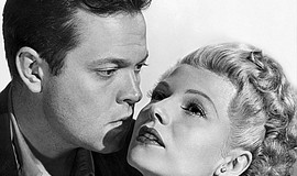 Rita Hayworth and Orson Welles in The Lady from Shanghai ...