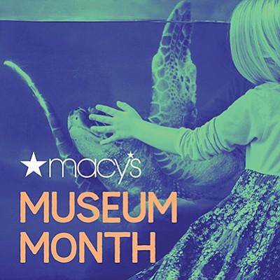 Promotional graphic for Macy's Museum Month. Courtesy of ...