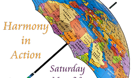 Promo graphic for Harmony In Action Cross-Cultural Non-...