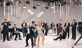 Promotional photo of Pink Martini. Courtesy of Pink Martini.