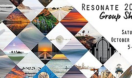"""Promotional graphic for the """"RESONATE 2018"""" Photographic ..."""