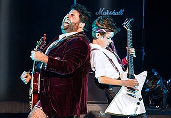 """A photo from """"School of Rock,"""" the tour. By Matthew Murphy."""