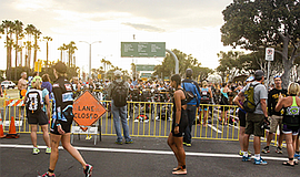 Photo from a previous San Diego International Triathlon. ...