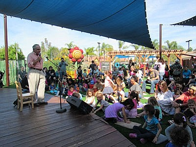 Promotional photo of guests enjoying the San Diego Childr...