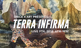 "Promotional graphic for ""Terra Infirma."" Courtesy of Spac..."