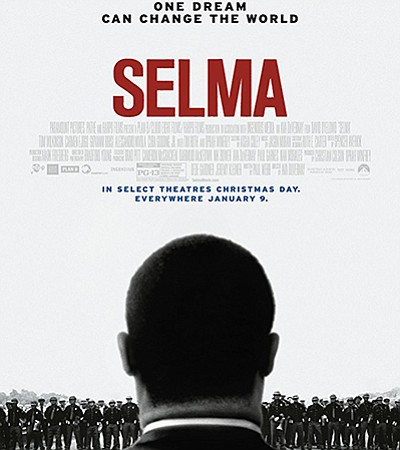 """Promotional film poster for """"Selma."""""""