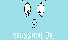 Promo graphic for 'Seussical, Jr.' By Trinity Theatre