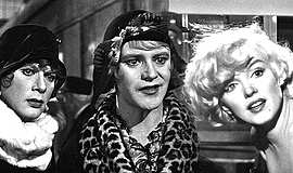 """Film still from """"Some Like It Hot"""" (1959)."""