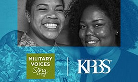 Promotional graphic for StoryCorps Military Interviews