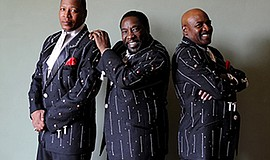 Promotional photo of The O'Jays. Courtesy of The O'Jays.