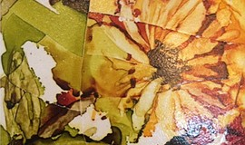 Promo graphic for Creative You Alcohol Ink Tile Trivet ...