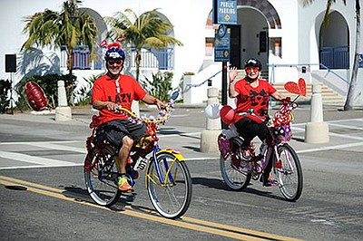 Promotional photo the Family Fun Ride - part of Oceanside...