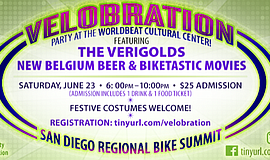 Promo graphic for Summer Kickoff Velobration