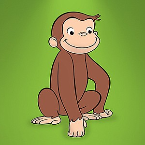 Promotional graphic of Curious George.