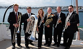 Promo graphic for Westwind Brass Concert Series  'Brass...