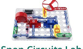 Promo graphic for Snap Circuits Lab