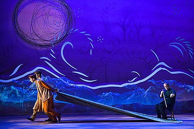 """A photo from the play, """"A Thousand Splendid Suns,"""" at The..."""