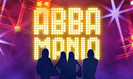 Promo graphic for Abba Mania