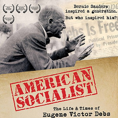 "Promotional poster for ""American Socialist: The Life and ..."
