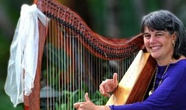 Promo graphic for Celtic Harp Concert
