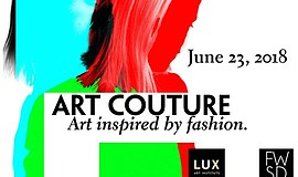 Promo graphic for Creative Nights: Art Couture