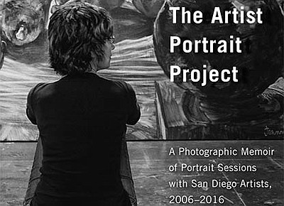 A promotional poster for The Artist Portrait Project, cou...