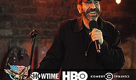 Promo graphic for Dave Attell