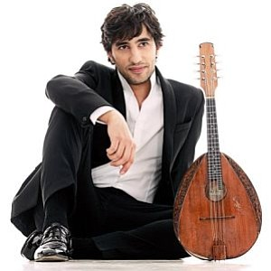 A promotional photo of musician Avi Avital, courtesy of S...