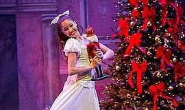 "A promotional photo from ""The Nutcracker,"" courtesy of Ba..."