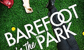 """A promotional poster for """"Barefoot in the Park,"""" courtesy..."""
