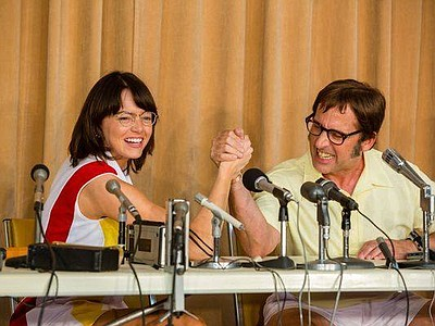 "Film still from ""Battle of the Sexes"" (2017)."