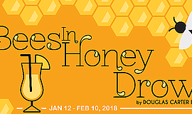 Promo graphic for 'As Bees In Honey Drown' At OnStage P...